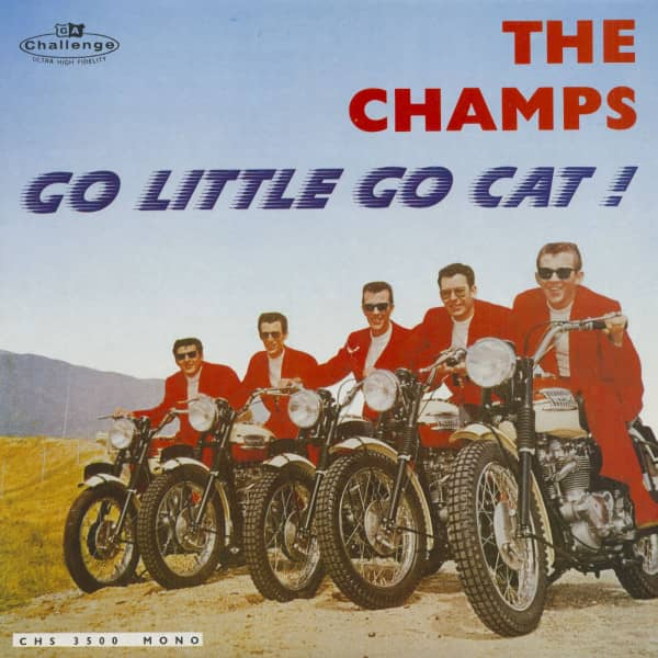 Go Little Go Cat (LP)