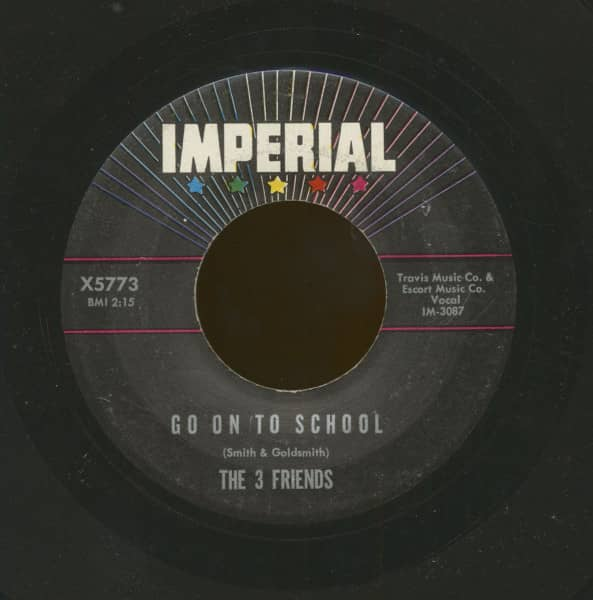 Go On To School b-w You're A Square (7inch, 45rpm)