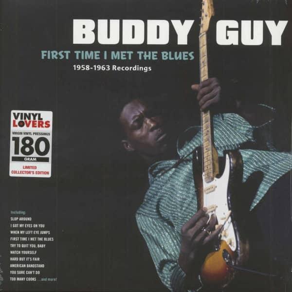First Time I Met The Blues (LP 180g Vinyl)