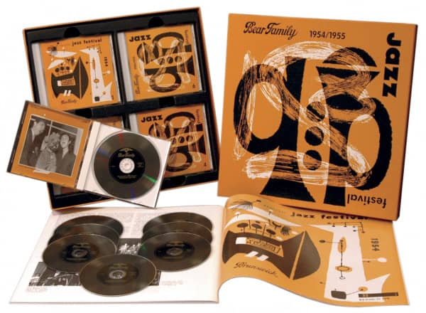 Deutsches Jazz Festival 1954 - 1955 (8-CD Deluxe Box Set)