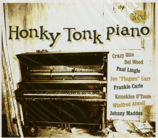 Honky Tonk Piano (3-CD)