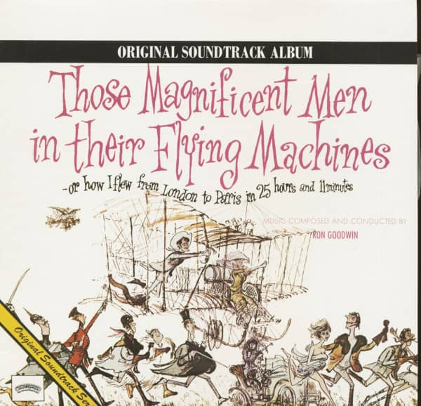 Those Magnificent Men In Their Flying Machines - Soundtrack (LP)