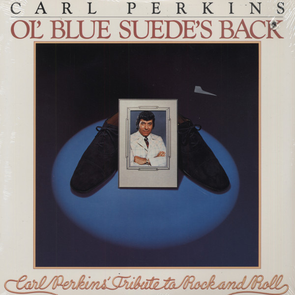 Ol' Blue Suede's Back (cut-out)