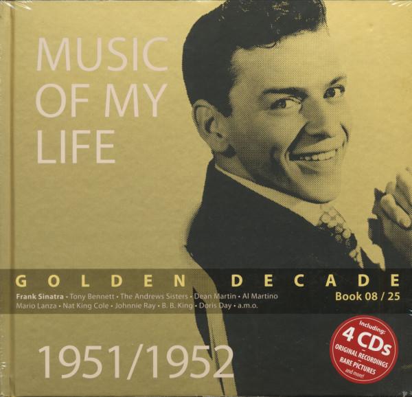 Golden Decade Vol.8 - 1951/1952 (Book & 4-CD)