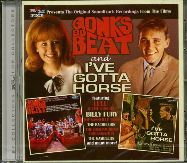 Gonks Go Beat & I've Gotta Horse (CD)