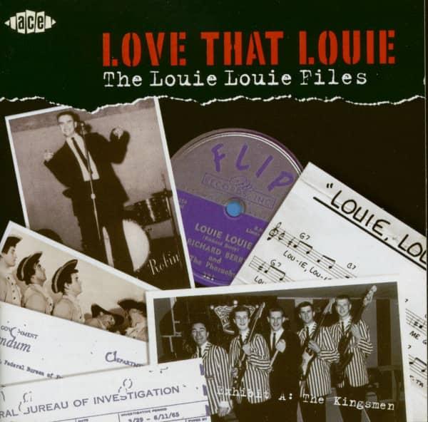 Love That Louie - The Louie Louie Files (CD)