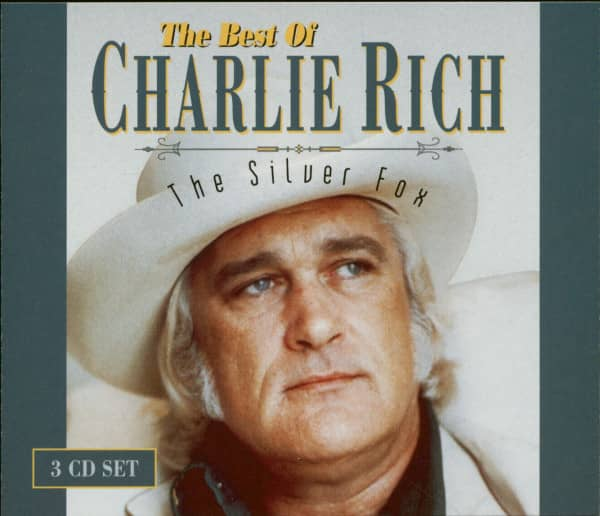 The Best Of Charlie Rich - The Silver Fox (3-CD)