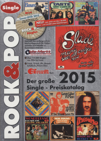 2015 Rock & Pop (inkl. DVD)