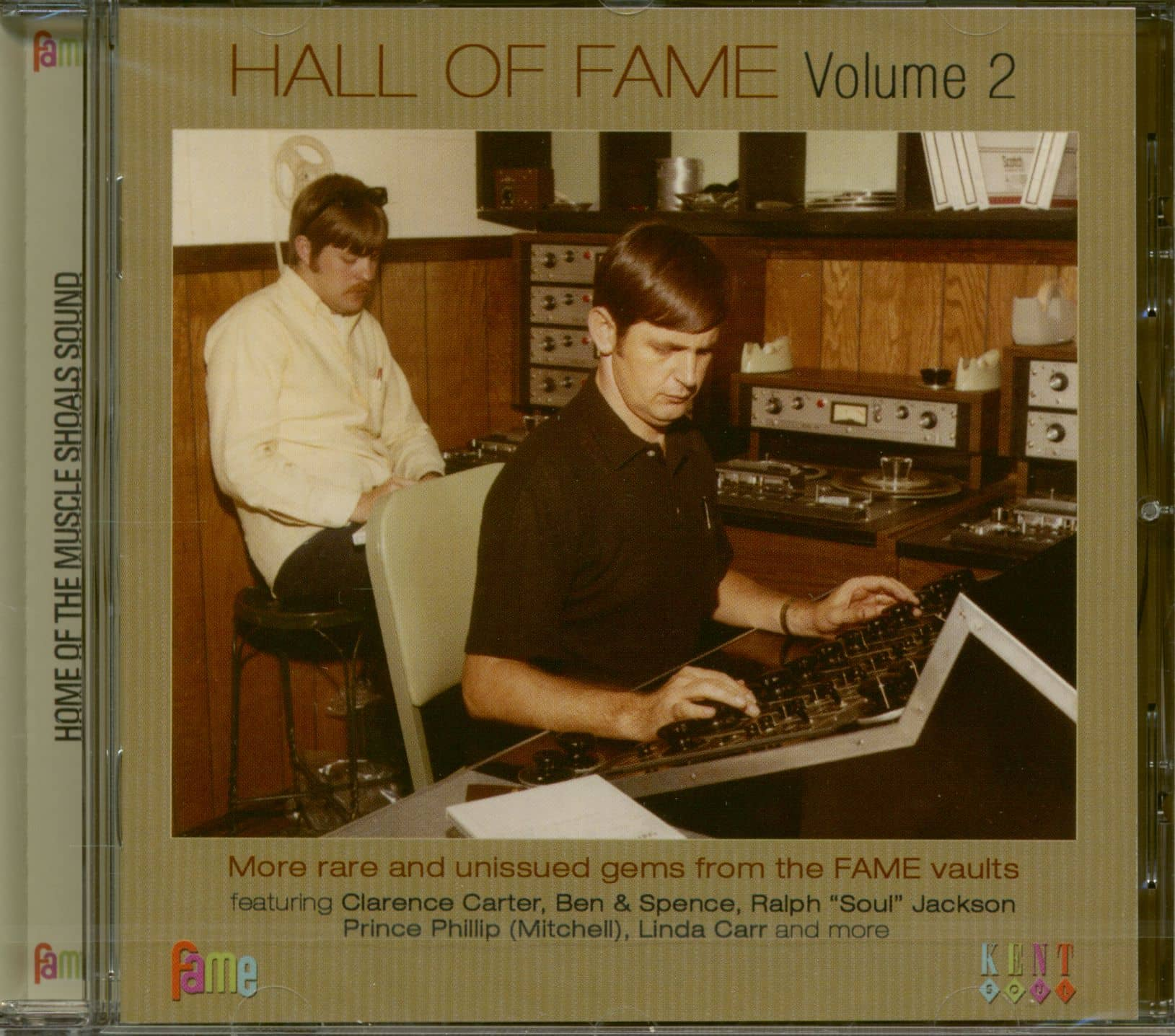 Various Cd Hall Of Fame Vol 2 Cd Bear Family Records