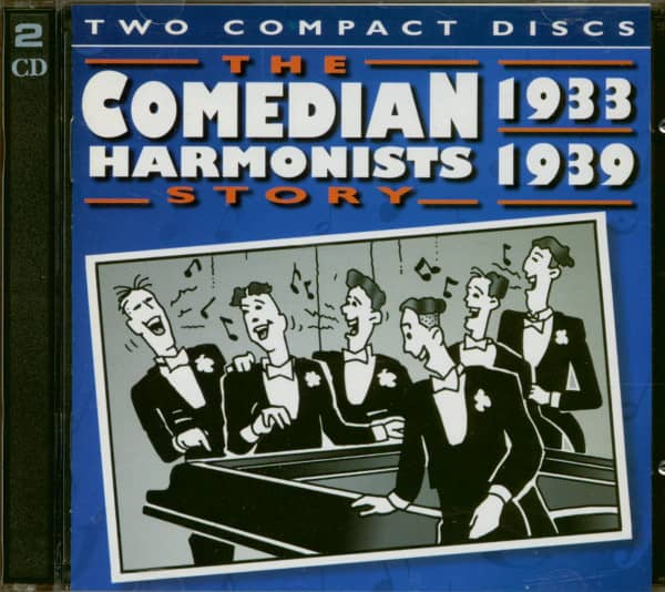 The Comedian Harmonist Story 1933 - 1939 (2-CD)