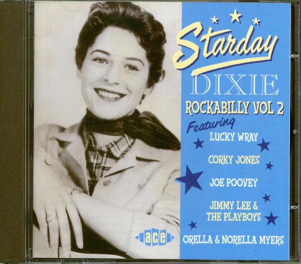 Starday Dixie Rockabilly Vol.2 (CD)