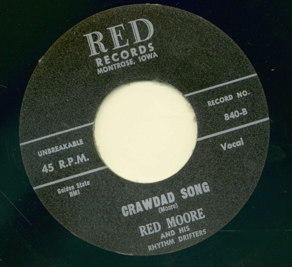 Crawdad Song - I'll Miss You When You're Gone (7inch, 45rpm)