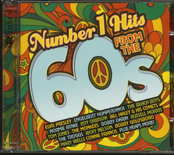 Number 1 Hits From The 60s (2-CD)