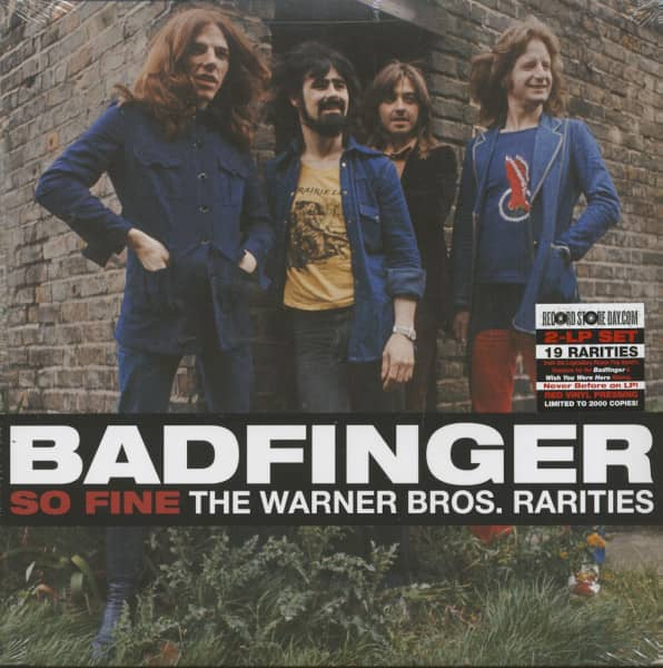 So Fine - The Warner Bros. Rarities (2-LP, Red Vinyl, Ltd., RSD)