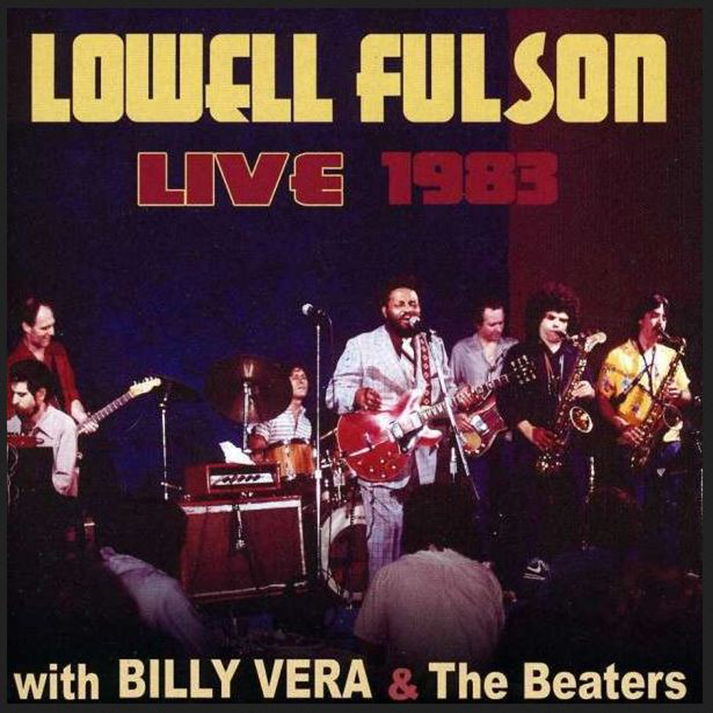 Lowell Fulson CD: Live 1983 With Billy Vera And The Beaters - Bear ...