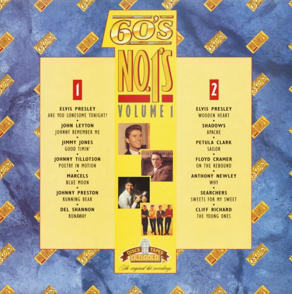 60's No.1's Vol.1 (LP)