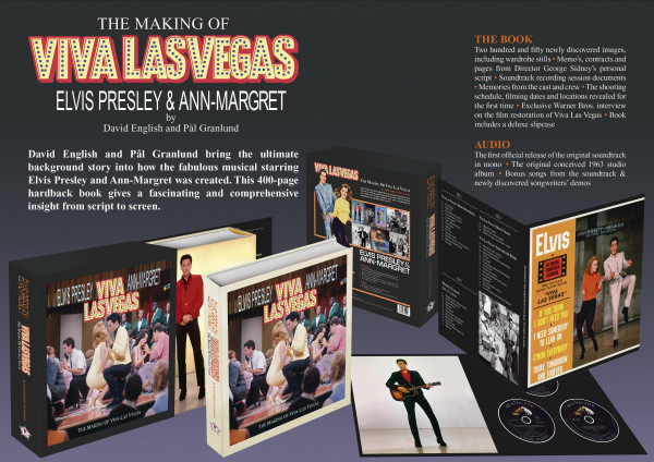 The Making Of Viva Las Vegas (Book & 3-CD)