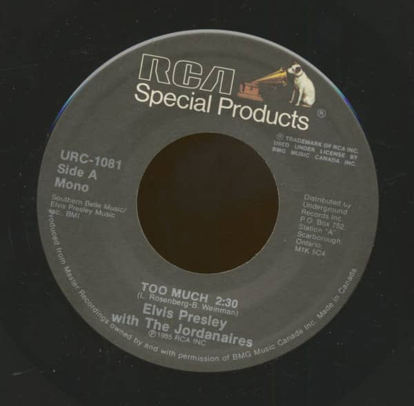 Too Much - Love Me (7inch, 45rpm)