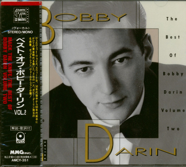 Mack The Knife - The Best Of Bobby Darin Vol.2 (CD Japan Edition)