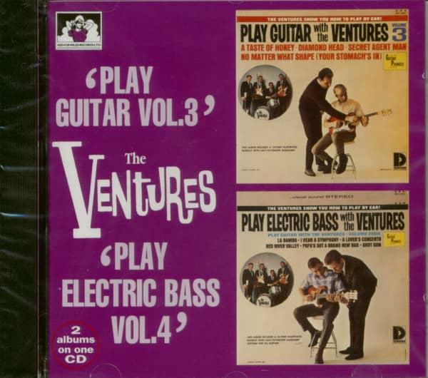 Play Guitar Vol.3 - Play Electric Bass Vol.4