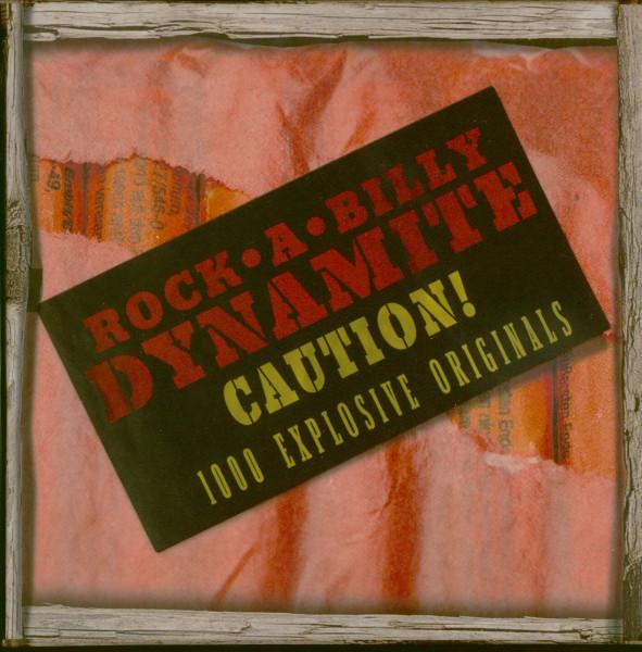 Rock-A-Billy Dynamite (40-CD Box)