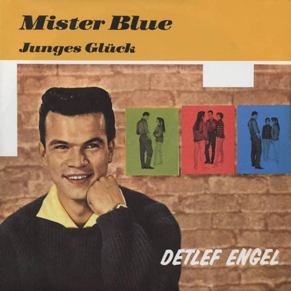 Mister Blue - Junges Glück 7inch, 45rpm, PS (Bildhülle)