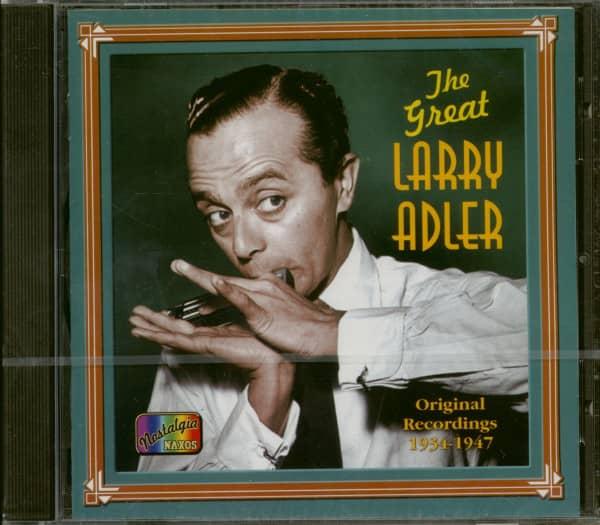 The Great Larry Adler - Original Recordings 1934–1947 (CD)