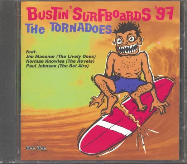 Bustin' Surfboards '97 (CD)