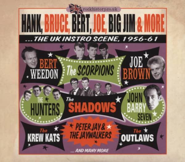 Hank, Bruce, Bert...UK Instro Scene 56-61 (2-