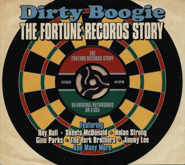 Dirty Boogie - The Fortune Records Story (3-CD)
