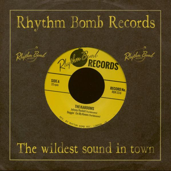 Johnny Rocket (7inch EP, 33rpm, CS, Ltd.)