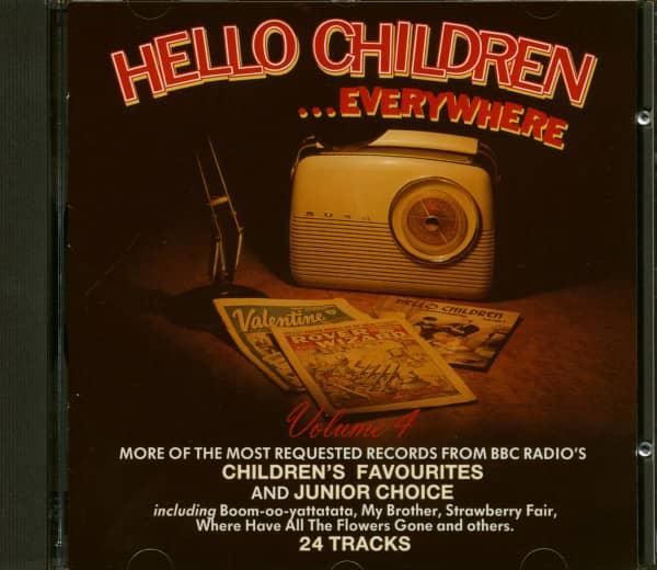 Hello Children Everywhere Vol.4 (CD)