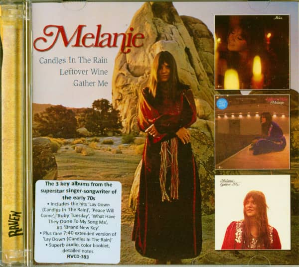 Melanie - Candles In The Rain - Leftover Wine - Gather Me