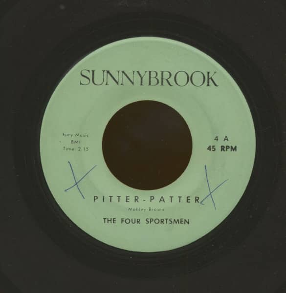 Pitter Patter - Git Up Paint (7inch, 45rpm)