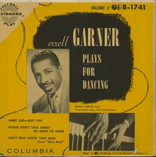 Erroll Garner Plays For Dancing, Vol.2 (7inch, 45rpm, EP, PS)