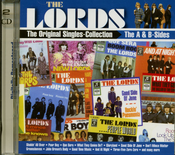 The Original Singles-Collection - The A & B-Sides (2-CD)