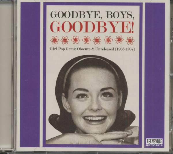 Goodbye, Boys, Goodbye! (CD)