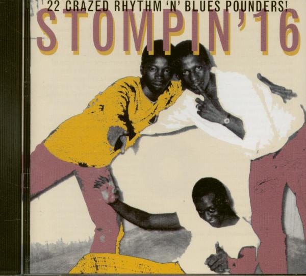 Stompin' Vol.16 (CD)