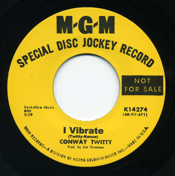 I Vibrate - Long Black Train (7inch, 45rpm)