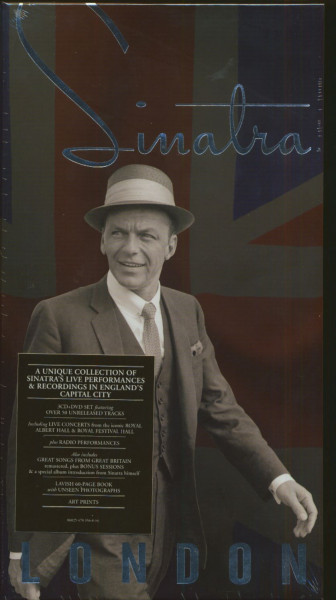 Sinatra - London (3-CD & DVD Box)
