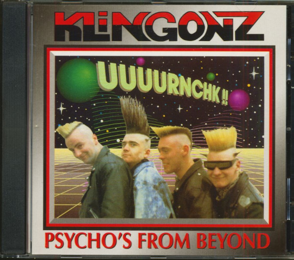 Psycho's From Beyond (CD)