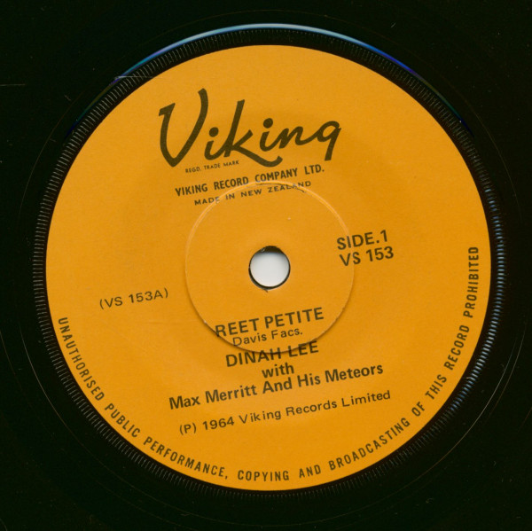 Reet Petite - Yeh Yeh We Love 'Em All (7inch, 45rpm, SC)