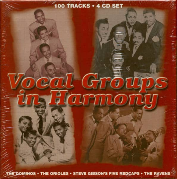 Vocal Groups In Harmony (4-CD)