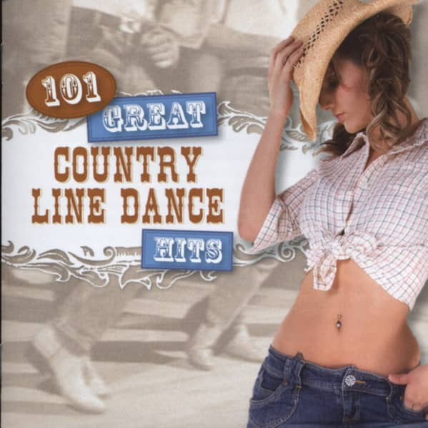 Line Dance - 101 Great Country Hits (5-CD)