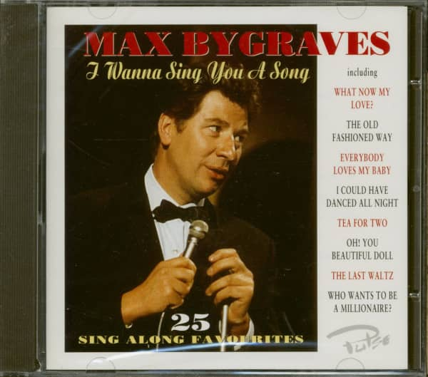 I Wanna Sing You A Song (CD)