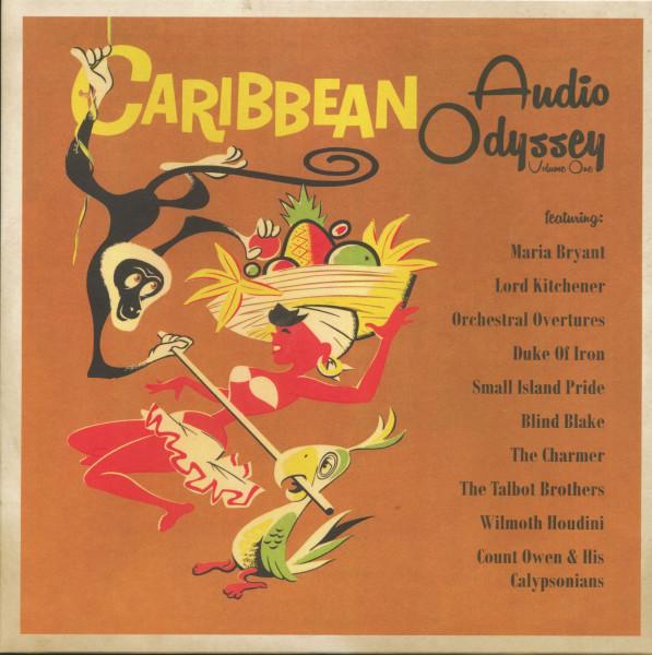 Caribbean - Audio Odyssey Vol.1 (LP, 10 inch)