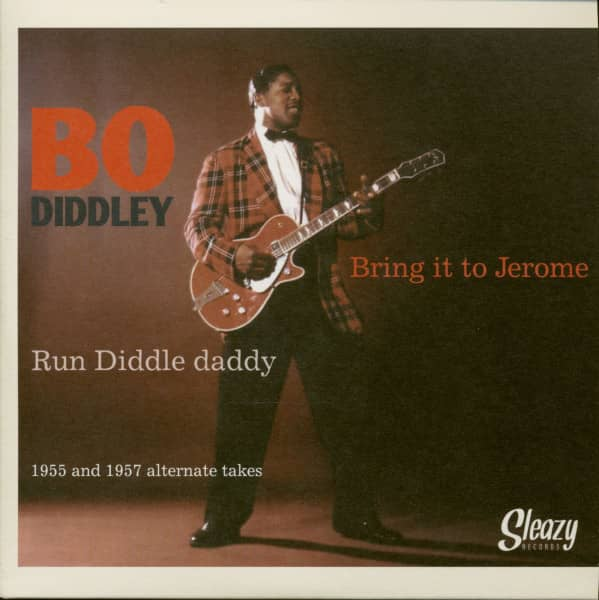 Bring It To Jerome - Run Diddle Daddy (7inch, 45rpm, PS, BC)