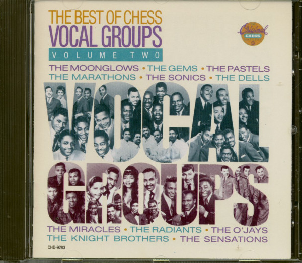 The Best Of Chess Vocal Groups Vol.2 (CD)