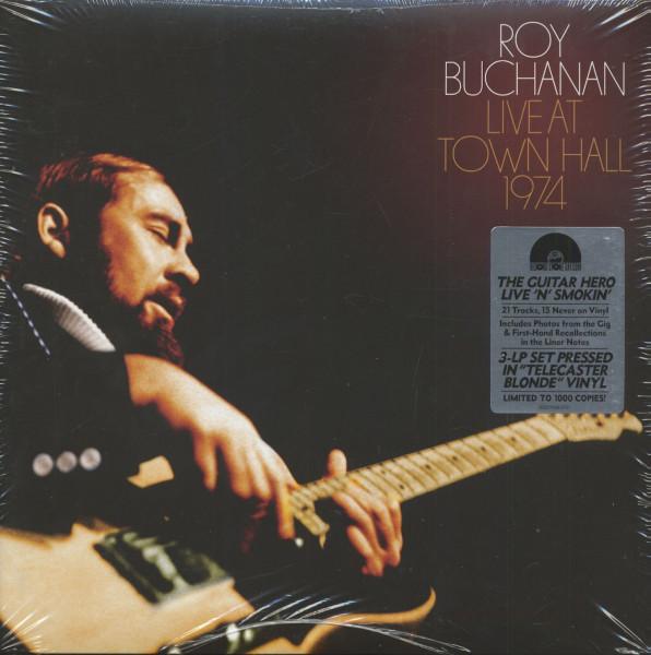 Live At Town Hall 1974 (3-LP, Telecaster Blonde Vinyl, Ltd.)