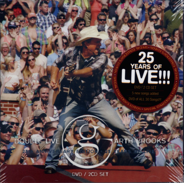 Garth Brooks (2-CD - 1-DVD)